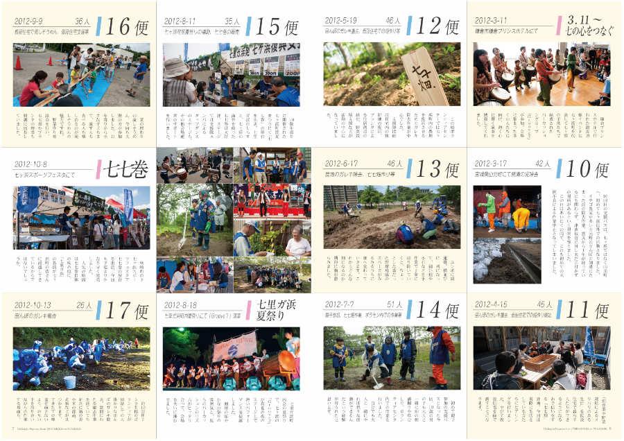 七里ガ浜発七ヶ浜復興支援隊 支援バス全18便の記録 P6-7